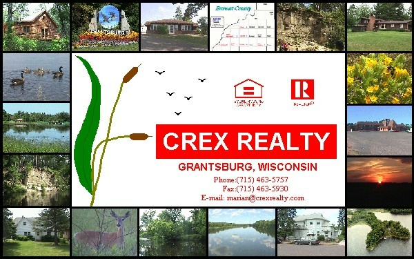 links to everything you can find in the Crex Realty web site.